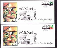 US 1999 AGRO Art Festival Covers Lot of 4