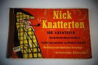 Nick Knatterton 100 Abenteuer der Schuss in den künstlichen Hinterkopf B-17200