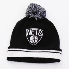 low priced 3b1b8 607e2 Mitchell   Ness Brooklyn Nets Cuff Knit Beanie Skull Cap Men s One ...