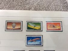 Berlin 1978    Aviation history  set of 4  unmounted  mint stamps