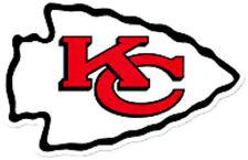 20 water slide nail art  decal Kansa City chiefs football logo 5/8 inch trending