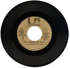 "Bobby Womack ""eres bienvenido, parada en por"" Killer años 70 Soul mover! escucha!"