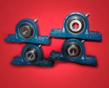 4 Gehäuselager / Stehlager / Stehlagereinheit UCP 201 / 12 mm Wellendurchmesser