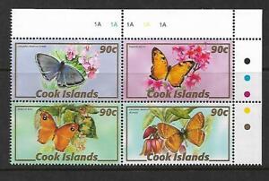 2007 Fauna - Butterflies Block of 4   MUH/MNH Sold as per Scan