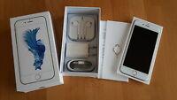 Apple iPhone 6s 64GB in silber topp / foliert / unlocked / iCloudfrei / in OVP !
