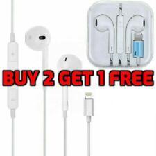 Apple iPhone 6 7 8 PLUS XR XS X 11 Lightning Earphones Headphones With Mic