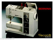 Bernina sewing manuals instructions ebay bernina 930 record instruction manual users guide cd pdf or download fandeluxe Gallery
