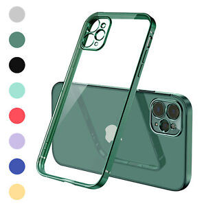 For iPhone 13 12 Pro Max 11 XR XS 87Plus Shockproof Bumper Clear Case Slim Cover