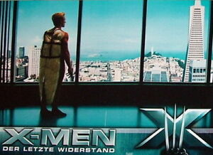 Marvel X-MEN: THE LAST STAND lobby cards 6 original vintage stills 2006 X-Men 3