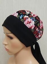 Cancer head scarf, hair loss cap headscarf, chemo bonnet head wear, alopecia hat