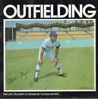 1972 Audio Sports Record/Booklet on Baseball Fundamentals, Willie Mays, Mets ~VG