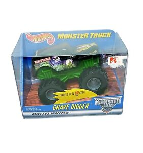 Hot Wheels Monster Jam Grave Digger Truck Rev And Go 1999 Friction Powered