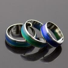 Gifts Unisex Color Change Band Temperature Control Emotion Feeling Mood Ring