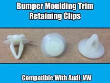 20x Clips For Audi VW Bumper Moulding Trim Retainer White Plastic 171807249A