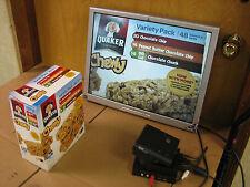 Canon CCTV Camera Analog Pan Tilt Zoom Black Communication VC-C3 w/ PA-V12 power