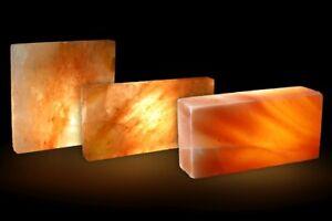 Salzziegel Salzfliese Salzwand Saunabau Salzbaustein Salzstein Himalaya*
