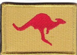 Army Australia OBG4 Iraq Deployment Patch hook backing