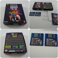 Sensible World of Soccer 95/96 un jeu pour le Commodore Amiga testé et de travail très bon état