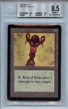 MTG Beta Rod of Ruin BGS 8.5 NM-MT+ Card Magic WOTC 2916