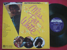 MISS PAT WHITE - INTRODUCING.. (1975) IVA MI-001 PRIVATE LOUNGE SINGER LP