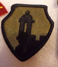 ARMY PATCH, 65TH RESERVE COMMAND  ,MULTI-CAM,SCORPION, WITH VELCR