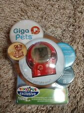 Giga Pet Puppy Pup A Virtual Pet Tiger Games 2006 Hasbro Toys R Us NEW