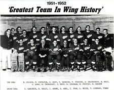1951 52 DETROIT RED WINGS HOCKEY STANLEY CUP CHAMPIONS 8X10 TEAM PHOTO