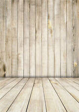 Child Photography Backdrop Brown Wooden Floor Vinyl Photo Background Baby 5x7ft