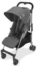 Maclaren Baby Quest ARC Lightweight Umbrella Fold Stroller Charcoal Denim NEW