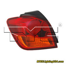 TYC Left Outer Side Tail Light Assembly for Mitsubishi Outlander Sport 11-15