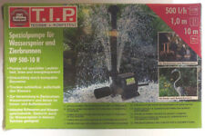 TIP WP 500-10 R Teich- Garten- Springbrunnen Pumpe Wasserspiel Fontäne Filte NEU