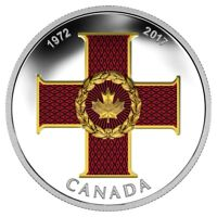 2017 Canada $20 Dollars 9999 silver Canadian Honours  Cross Of Valour