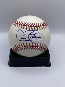 Cecil Fielder Autographed Signed Official MLB Baseball JSA COA Detroit Tigers