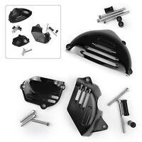 Moteur Couvercle protecteurs Engine Cover protection noir Pour Kawasaki Z900RS V