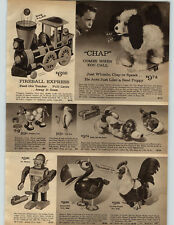 1964 PAPER AD Mr Mercury Robot Ideal Dick Tracy Copmobile Clancy Monkey Gaylord