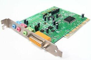 Creative Labs CT4810 Soundblaster Sb 128 PCI Sound-Card Audio Card Game Port PC