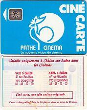 CCP7C...CINECARTE PATHE...COQ BLEU...SC5AN...REPIQUAGE VOX & AXEL (ROUGE)...TTBE