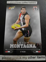 2016 AFL SELECT FOOTY STARS BASECARD NO.178 LEIGH MONTAGNA  ST KILDA