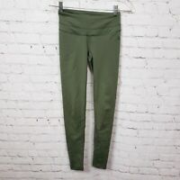 The North Face Flashdry Activewear Leggings Olive Green Womens Size XS