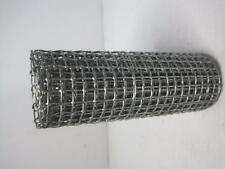 """1045 Wire Mesh 5-1/4"""" Wide x 36"""" Long Hardware Cloth Hobby Craft 1/4"""" Holes NEW"""