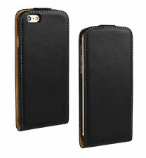 HOUSSE ETUI COQUE CUIR LUXE A RABAT APPLE IPHONE 6 PLUS /  IPHONE 6S PLUS