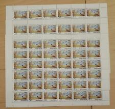 SPECIAL LOT Russia - 6073 - Bird In Forest - Three Full Sheets - MNH