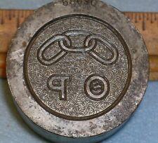 1935 ODD FELLOWS THETA RHO Medal Stamping Die MC LILLEY