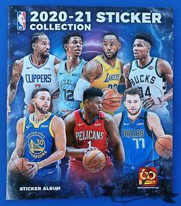 NBA 2020/21 Basketball, PANINI empty album, BUYED version