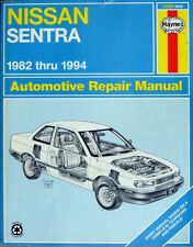 HAYNES NISSAN SENTRA 1982 thru 1994 REPAIR MANUAL - BOOK