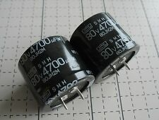 1pc Radial Electrolytic Capacitor 80v 4700uf 85C