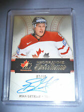 11-12 The Cup Programme Of Excellence RYAN GETZLAF AUTO * 7/10 * Canada RARE!!