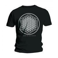 Bring Me The Horizon T Shirt Mens Black Sempiternal band logo Official NEW
