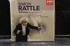 J. Sibelius - Symphonies 1-7 / Simon Rattle   5 CD-Box