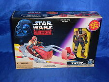 Star Wars Swoop w/ Swoop Trooper Action Figure Shadows Empire Sealed Kenner 1996